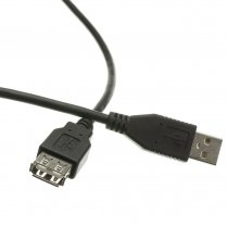 1.8M USB 2.0 A Male to A Female Extension Cable