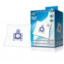 12 Pack Compatible Vacuum Dust Bags for Miele FJM