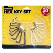 20 Piece DIY Hex Allen Key Set