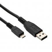 2M Micro USB Data Cable Black