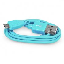 2M Micro USB Data Cable Blue