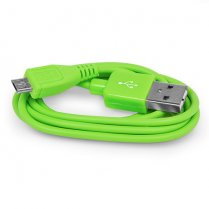 2M Micro USB Data Cable Green