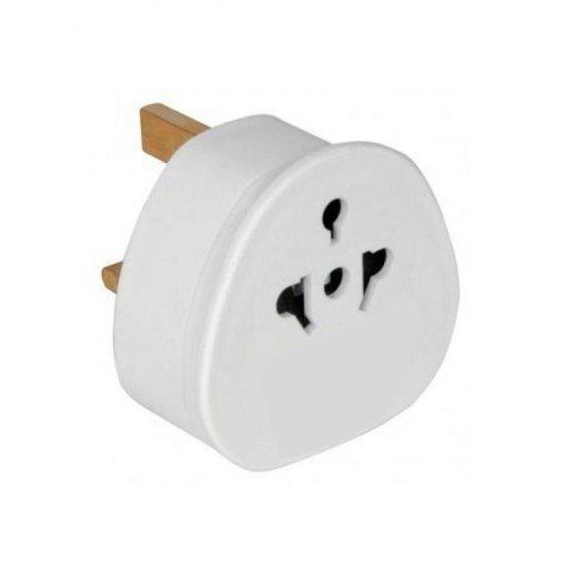 3 Pin UK Visitor Adapter Plug