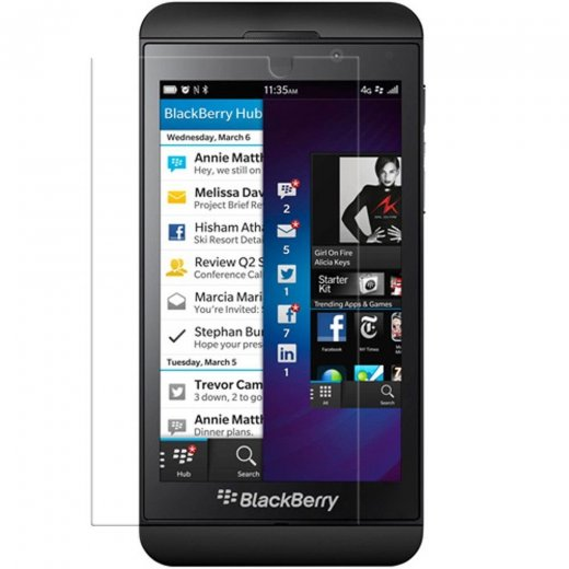 5 in 1 Screen Protector for Blackberry Z10