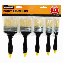 5 Piece DIY Paint Decorating Brush Set