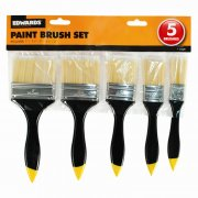 5 Piece DIY Paint Decorating Brush Set