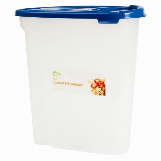 5L Kitchen Cereal Dispenser Storage Box