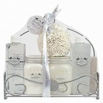 6 Piece Ladies Luxurious Bath Fresh Jasmine Gift Set