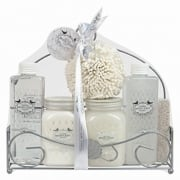 6 Piece Ladies Luxurious Bath Fresh Jasmine Gift Set