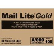 A/000 (110 x 160mm) Mail Lite Gold Envelopes