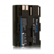 Blumax Battery for Canon BP-511 1400mAh