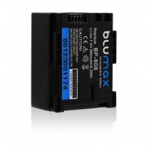 Blumax Battery for Canon BP-808 890mAh