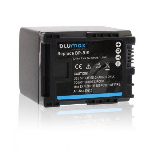Blumax Battery for Canon BP-819 1600mAh
