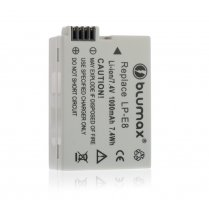 Blumax Battery for Canon LP-E8 1000mAh
