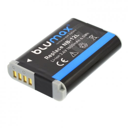 Blumax Battery for Canon NB-12L 1800mAh