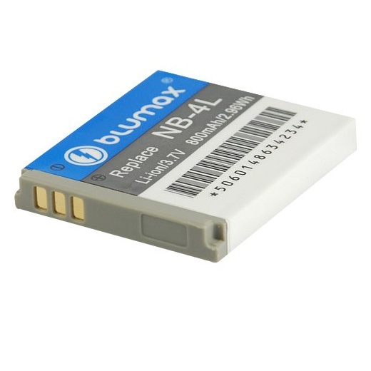 Blumax Battery for Canon NB-4LH 700mAh
