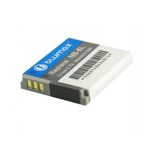 Blumax Battery for Canon NB-6L 850mAh