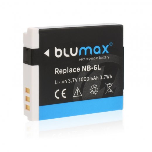 Blumax Battery for Canon NB-6LH 1000mAh