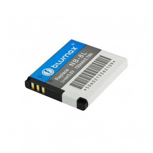 Blumax Battery for Canon NB-8L 700mAh