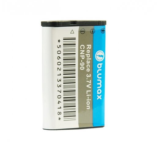 Blumax Battery for Casio NP-90 1600mAh