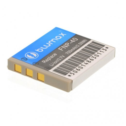 Blumax Battery for Fuji NP-40 700mAh