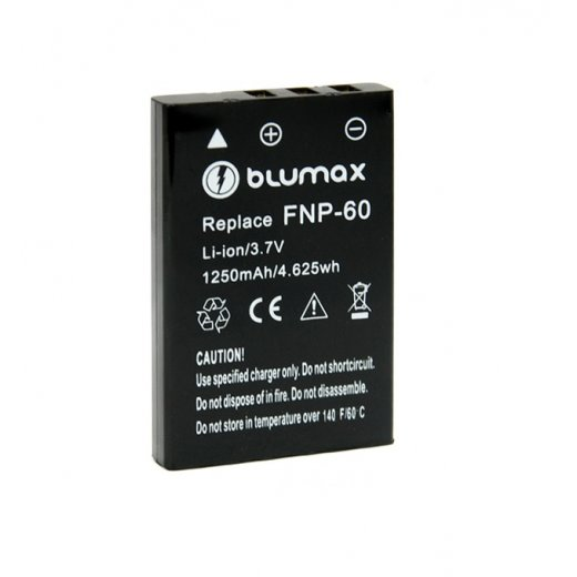 Blumax Battery for Fuji NP-60 1200mAh