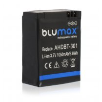 Blumax Battery for GoPro AHDBT-301 1050mAh
