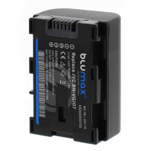 Blumax Battery for JVC BN-VG107 900mAh