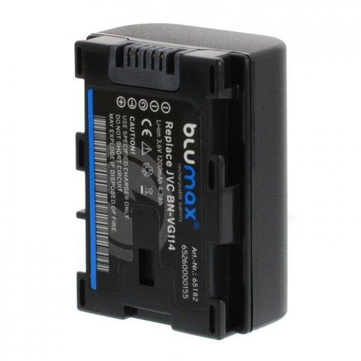 Blumax Battery for JVC BN-VG114 1200mAh