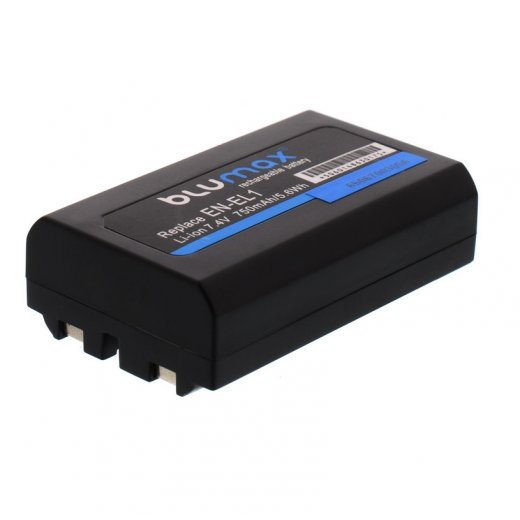 Blumax Battery for Nikon EN-EL1 750mAh