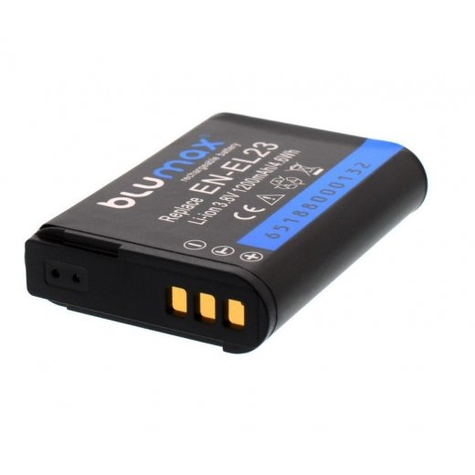 Blumax Battery for Nikon EN-EL23 1200mAh
