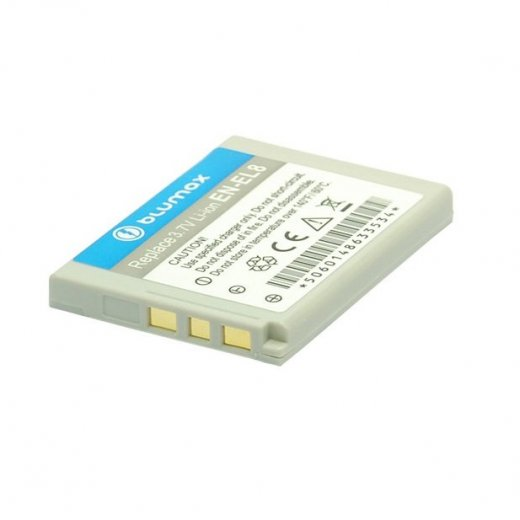 Blumax Battery for Nikon EN-EL8 700mAh
