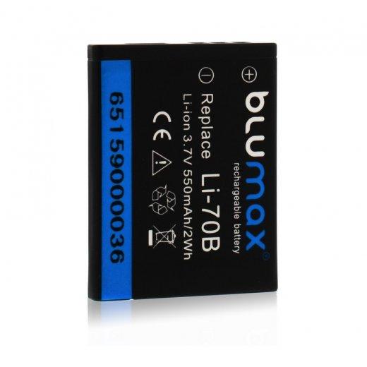 Blumax Battery for Olympus Li-70b 550mAh