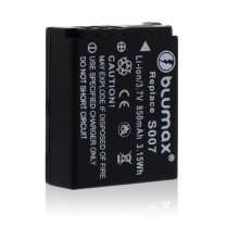 Blumax Battery for Panasonic CGA-S007E 850mAh