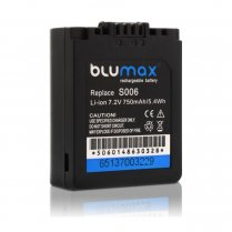 Blumax Battery for Panasonic CGR-S006E 750mAh