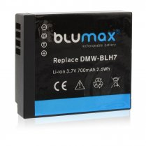 Blumax Battery for Panasonic DMW-BLH7E 700mAh