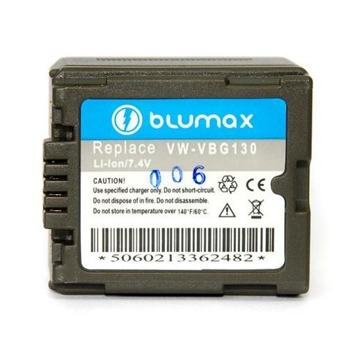 Blumax Battery for Panasonic VW-VBG180 1050mAh