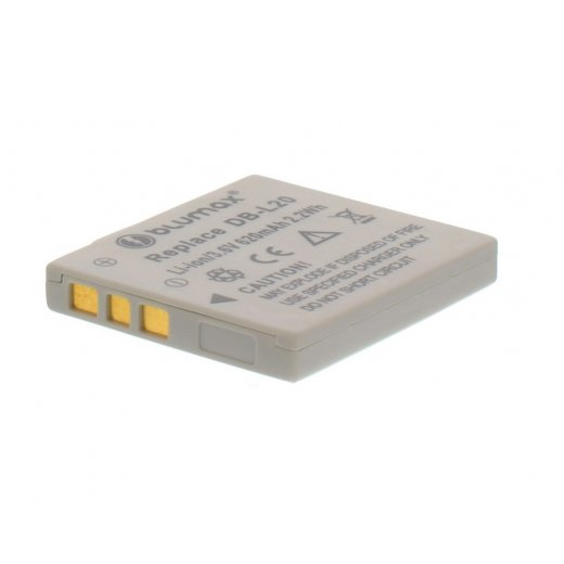 Blumax Battery for Sanyo DB-L20 620mAh