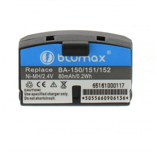 Blumax Battery for Sennheiser BA150 80mAh