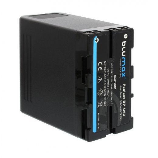 Blumax Battery for Sony BP-U60 14.4V 5200mAh