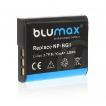 Blumax Battery for Sony NP-BG1 1020mAh