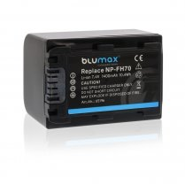 Blumax Battery for Sony NP-FH70 1400mAh