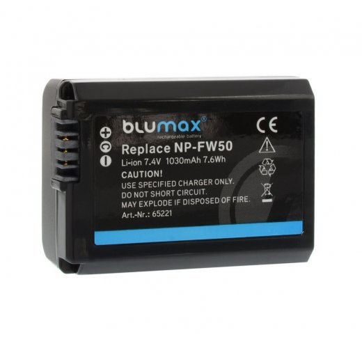 Blumax Battery for Sony NP-FW50 1030mAh