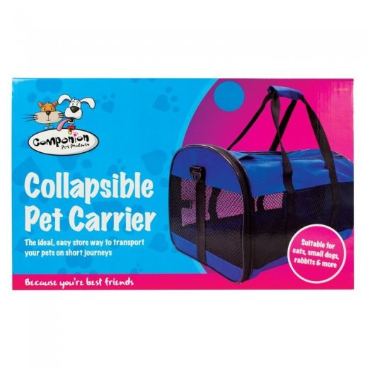 Cat Dog Puppy Pet Collapsible Fold Up Carrier