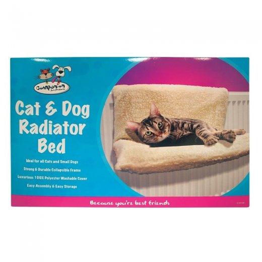 Cat Dog Puppy Pet Radiator Fleece Bed