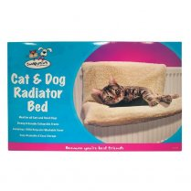 Cat Dog Puppy Pet Radiator Fleece Bed