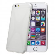 Clear TPU X-Style Gel Case for Apple iPhone 6 4.7""