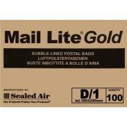 D/1 (180 x 260mm) Mail Lite Gold Envelopes