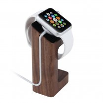 Desktop Charge Stand for Apple Watch 38mm & 42mm - Dark Wood
