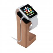 Desktop Charge Stand for Apple Watch 38mm & 42mm - Light Wood
